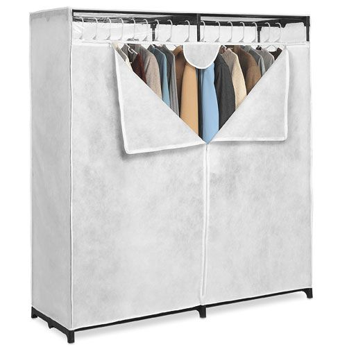 Whitmor White 60 Inch, Extra Wide Clothes Closet (This Might Be A