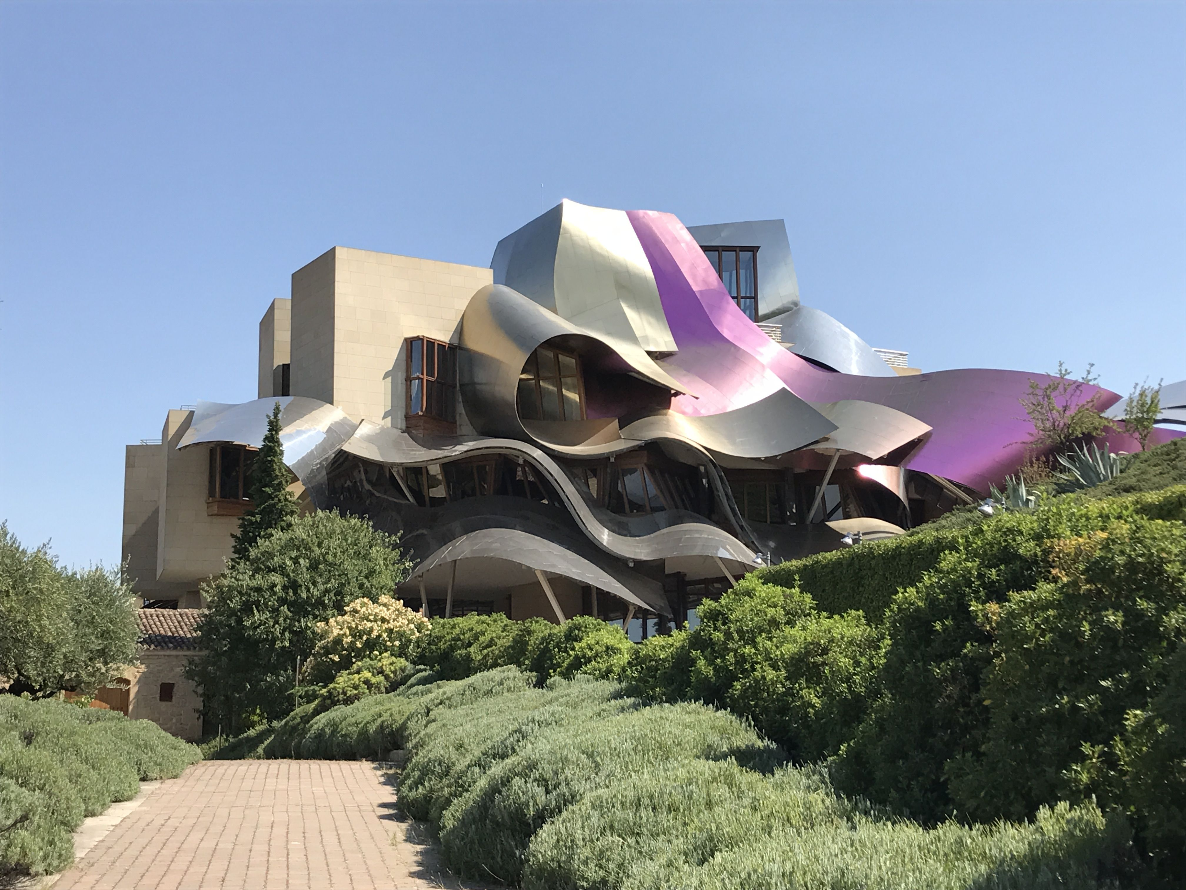 Bodegas Marques De Riscal Design By Frank Gehry Architecture