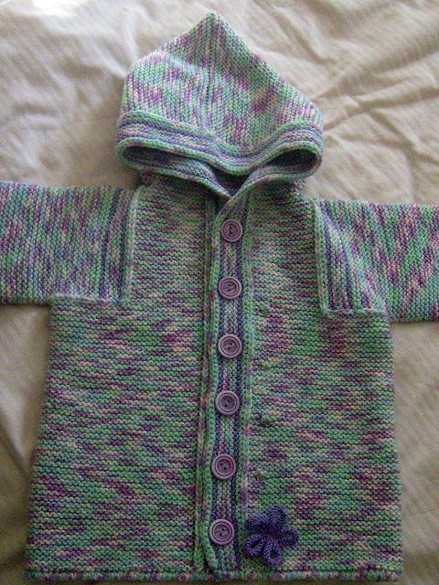 Elizabeth Zimmermans Totem Jacket Pattern Handmade Baby Gifts