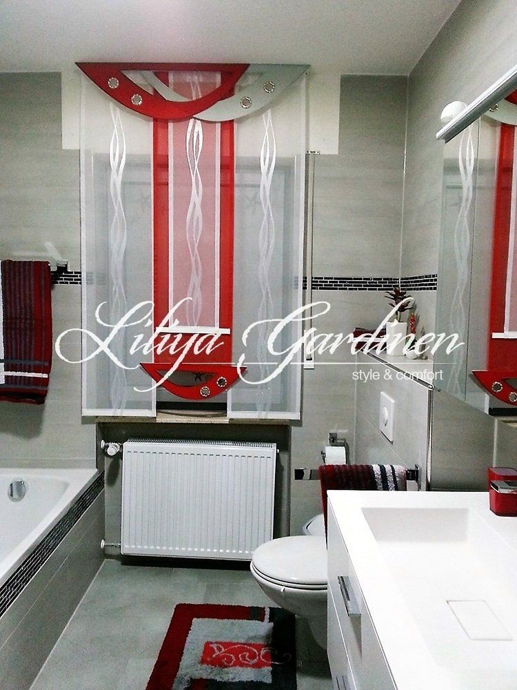 Badezimmer Gardinen Nach Mass Kaufen Fensterdeko Furs Bad Bad Gardinen Gardinen Modern Gardinen