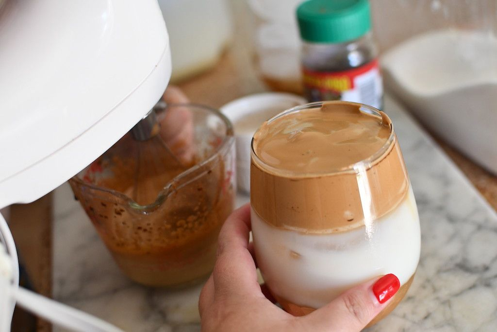 How to make the viral whipped iced coffee hack from tiktok