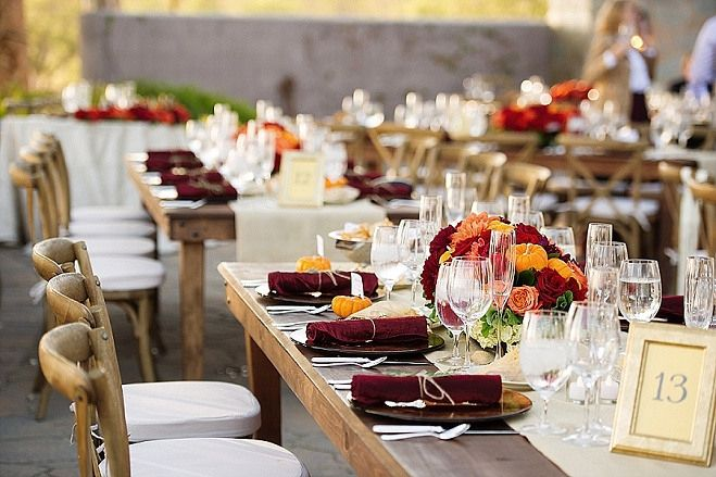 Fall Weddings in California