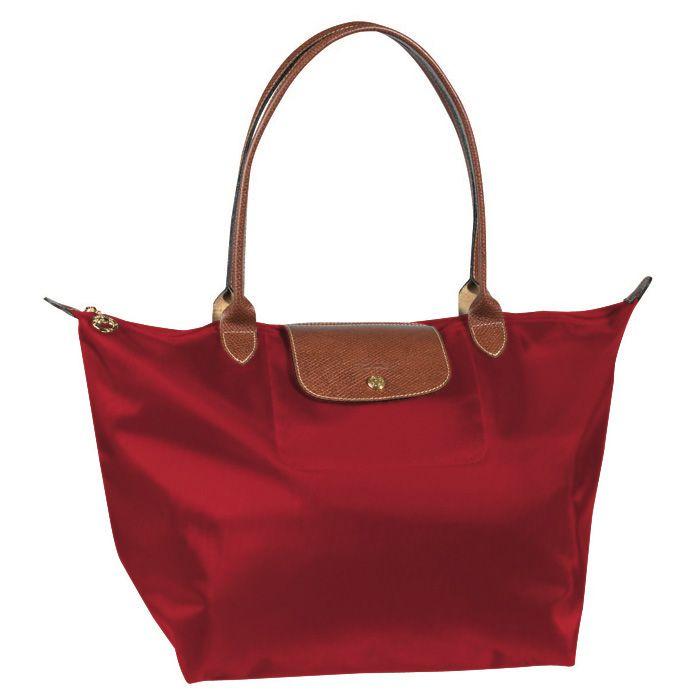 Longchamp Pas Cher Pliage A Epaule Large Rouge Sac Sacs Longchamp Et Sacs A Vendre