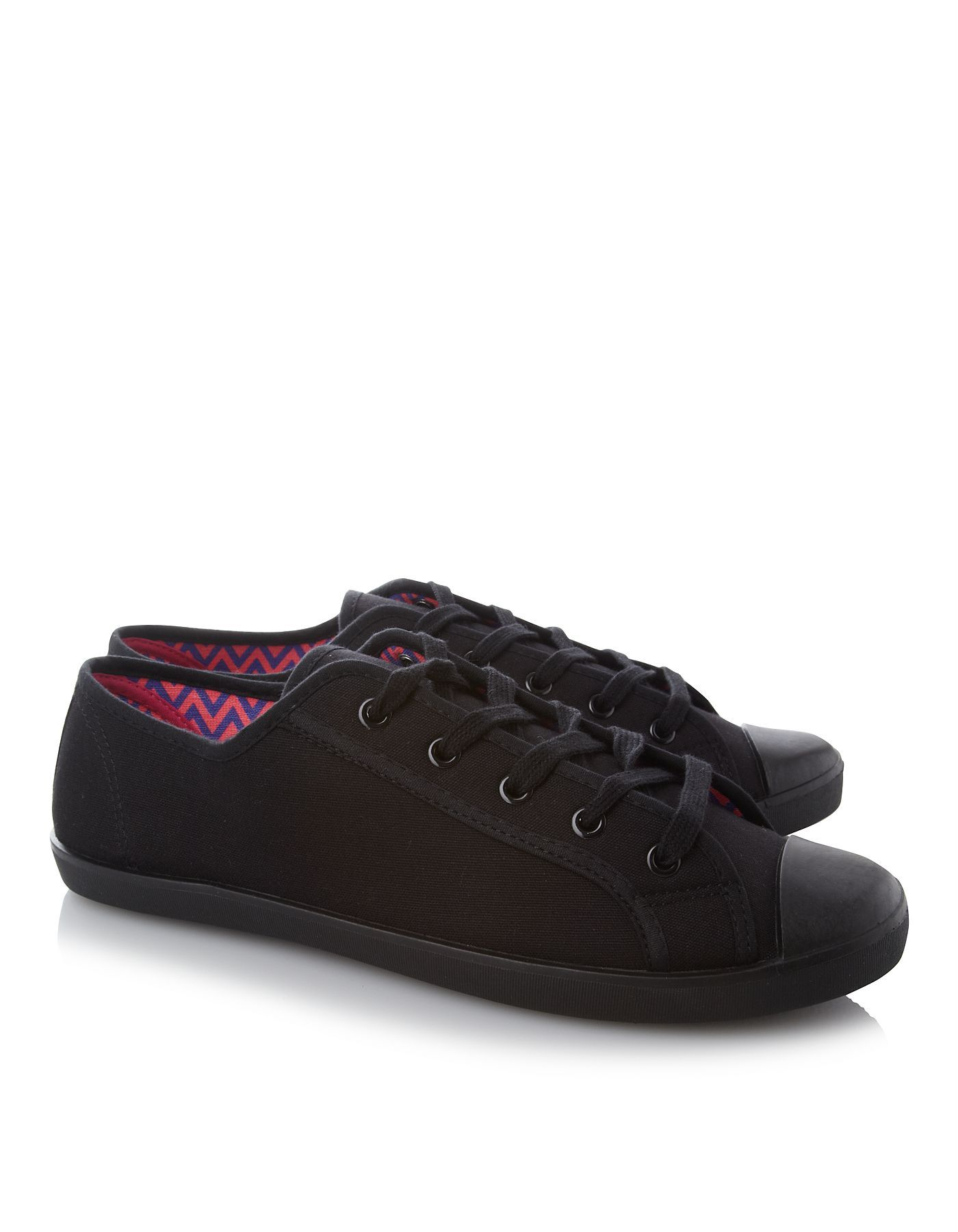 canvas trainers women george at asda shoes fashion. Black Bedroom Furniture Sets. Home Design Ideas