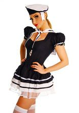 Matrosen Kostüm Damen Mariene Herren Seemann Uniform Matrosin Kleid Matrose Look