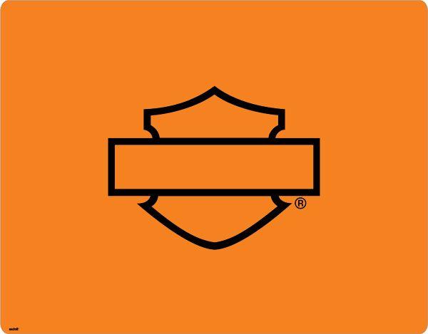 harley-davidson orange logo silhouette | logos harley-davidson