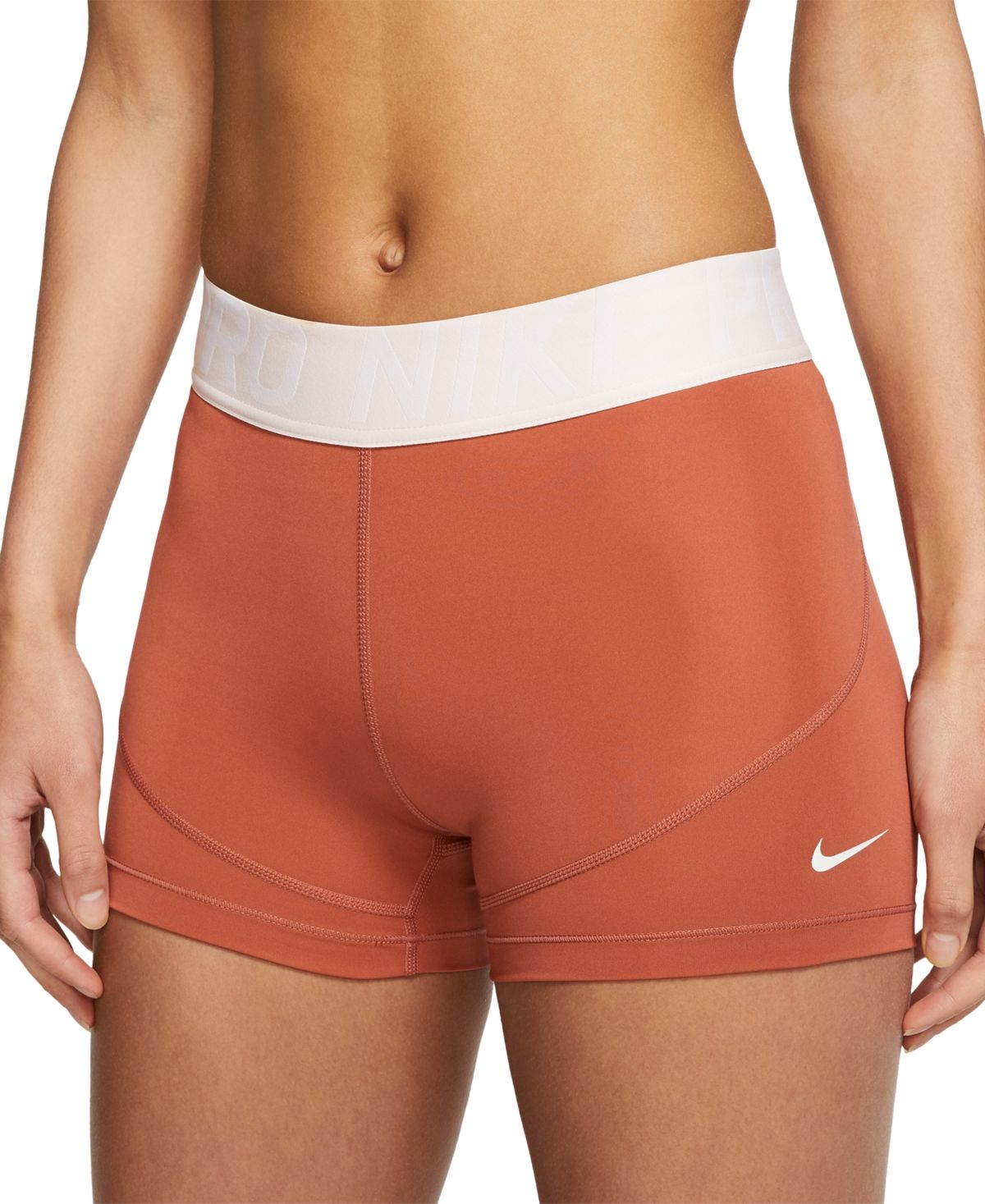 Nike Women S Pro 3 Shorts Reviews Women Macy S Workout Clothes Nike Nike Spandex Shorts Nike Pros