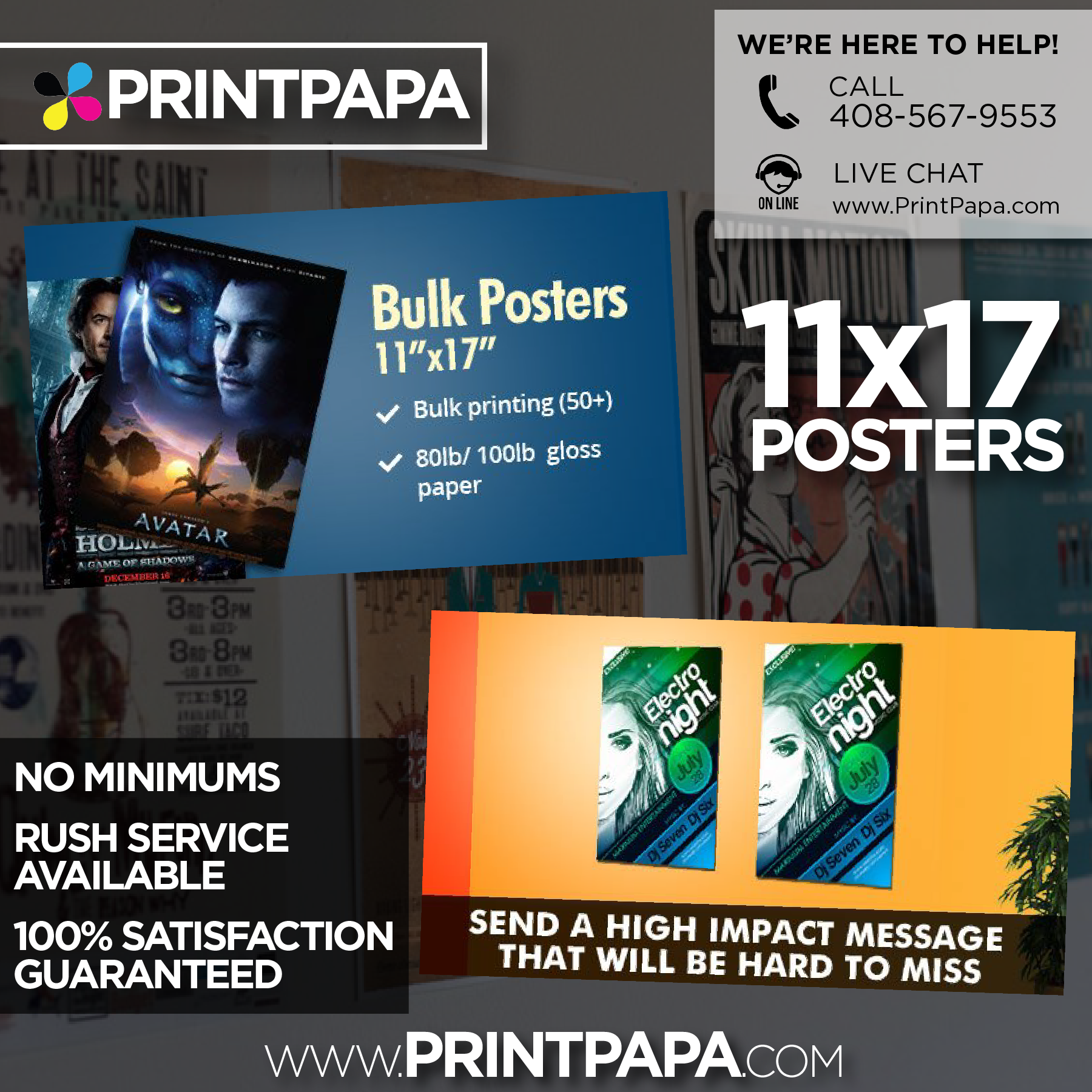 Given The Big Sheet Size Our 11x17 Posters Are The Most Popular We Offer You Can Really Send A High Impact Message That W Poster Prints 11x17 Poster Poster