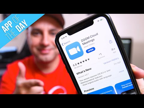 21 How To Use Zoom Mobile App For Free Video Conferences Youtube Zoom Cloud Meetings Mobile App App