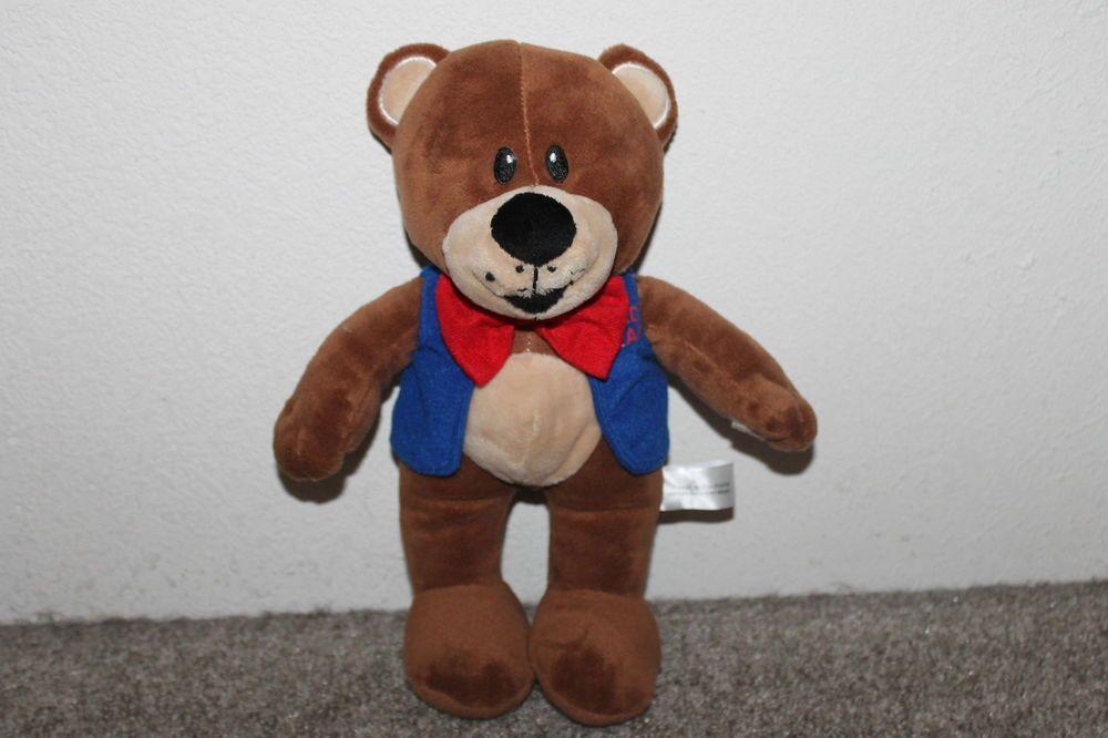 foto de Fred Meyers Fred Bear Teddy Plush Toy Freddys REAR 11