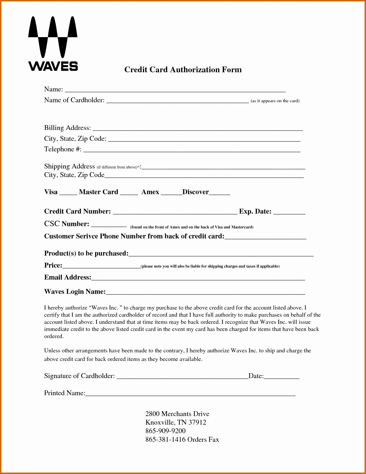Credit Card Authorization Form Template Awesome 10 Blank Credit Card Authorization Form Pdf Corporate Credit Card Credit Card Payoff Plan Discover Credit Card