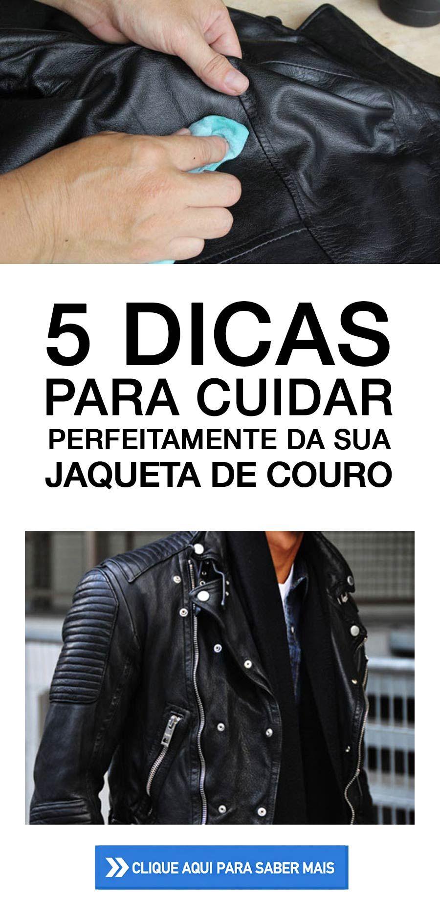 5 Dicas para cuidar da jaqueta de couro