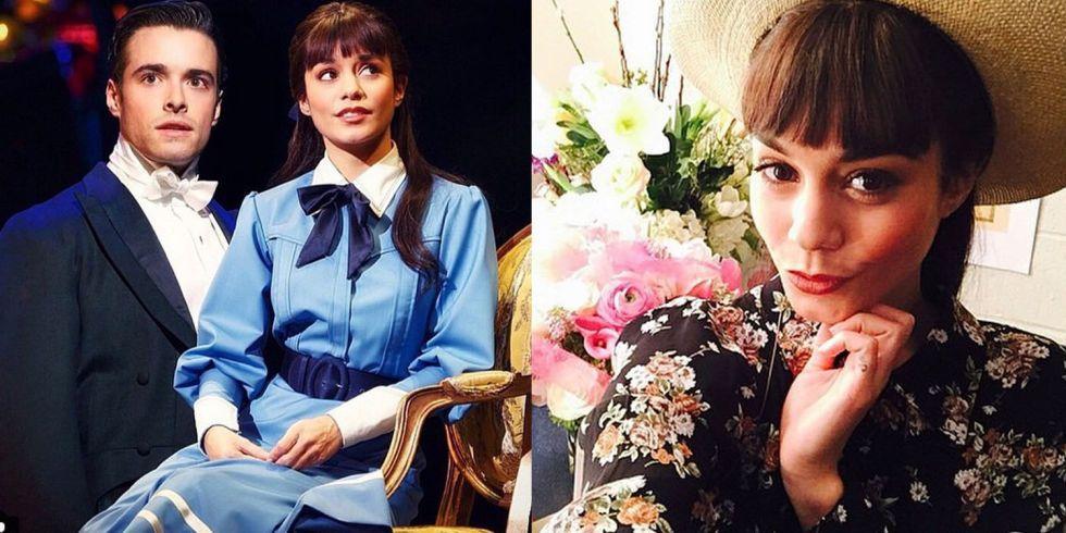 Vanessa Hudgens has taken on Audrey Hepburn's legendary role: