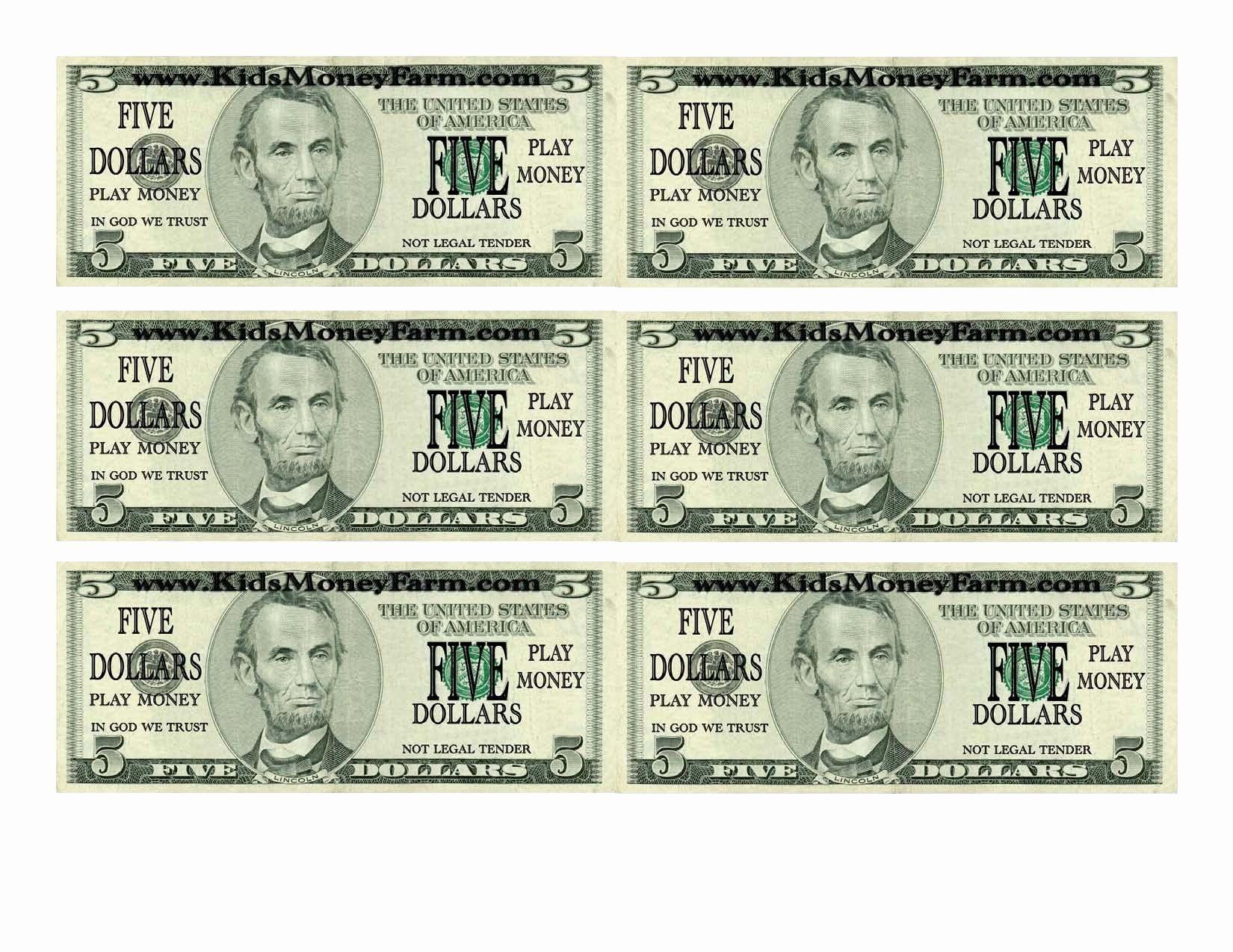 Fake printable money new shoregirl s creations american