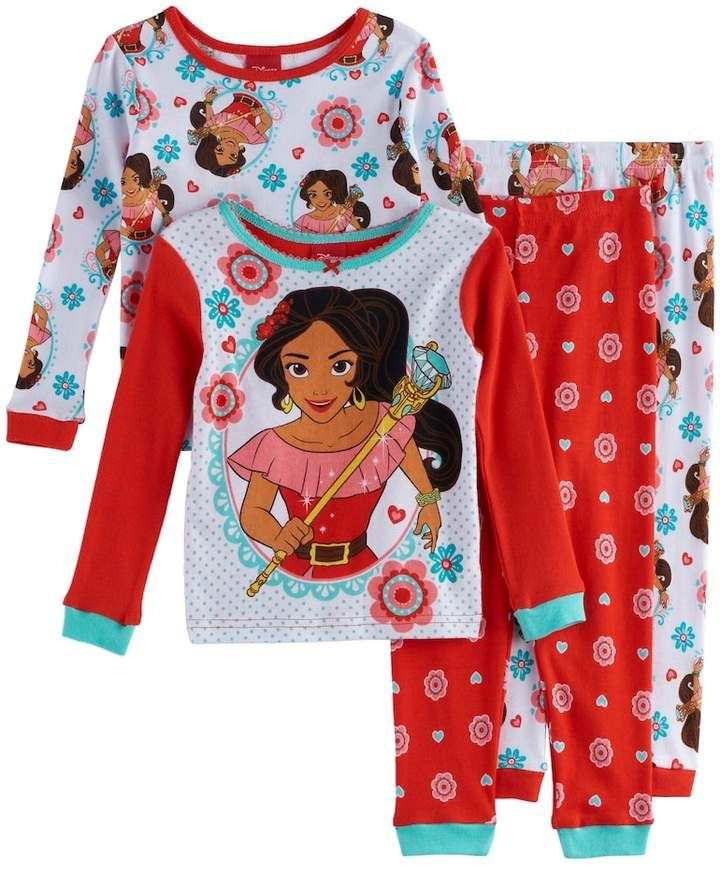 Elena of Avalor Little Girls 2-Piece Pajamas