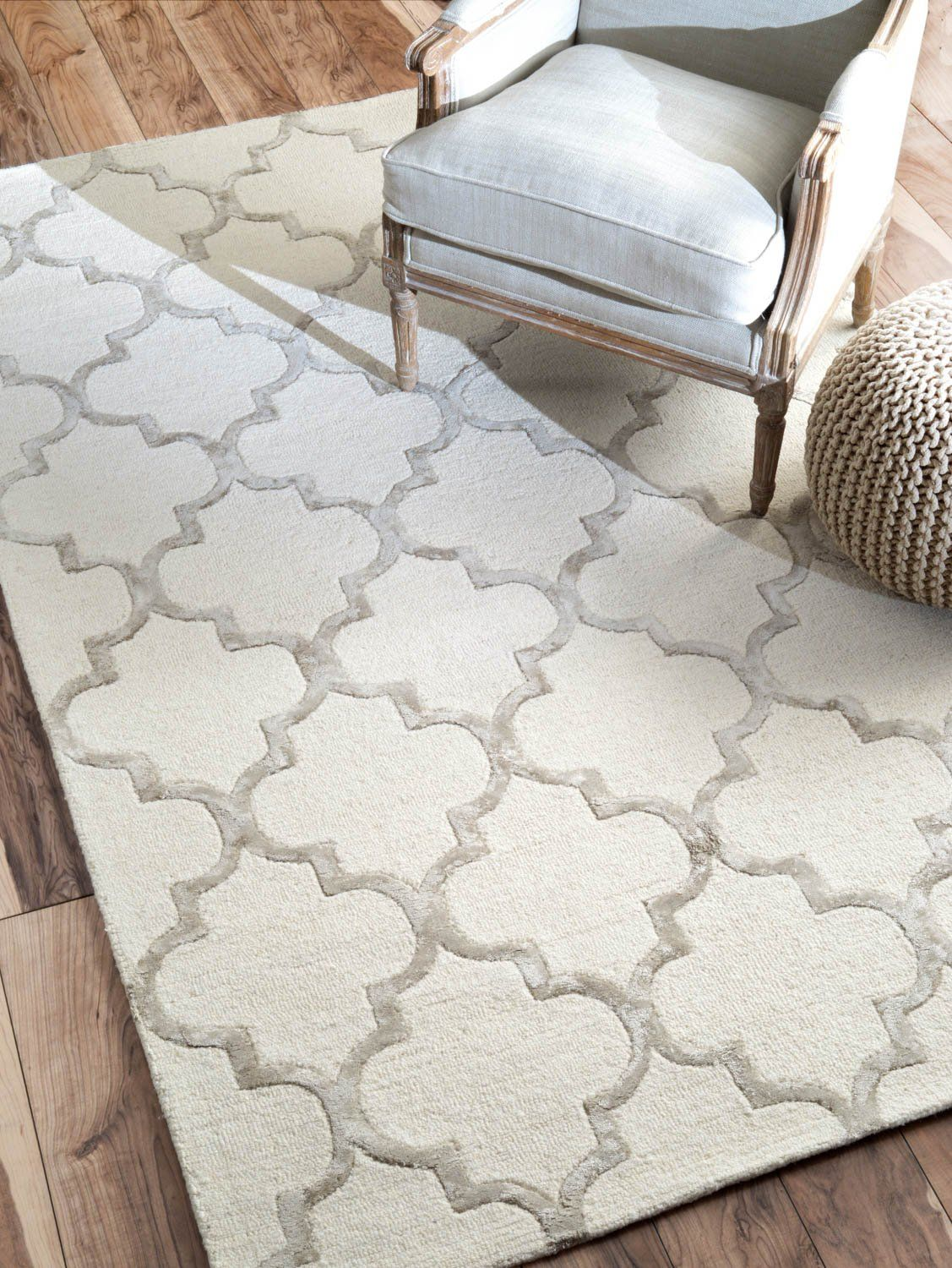 Uk Source Nuloom Contemporary 5 X 8 Nickel Hand Tufted Area Rug