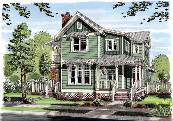 Bungalow Coastal Cottage Country Farmhouse Traditional