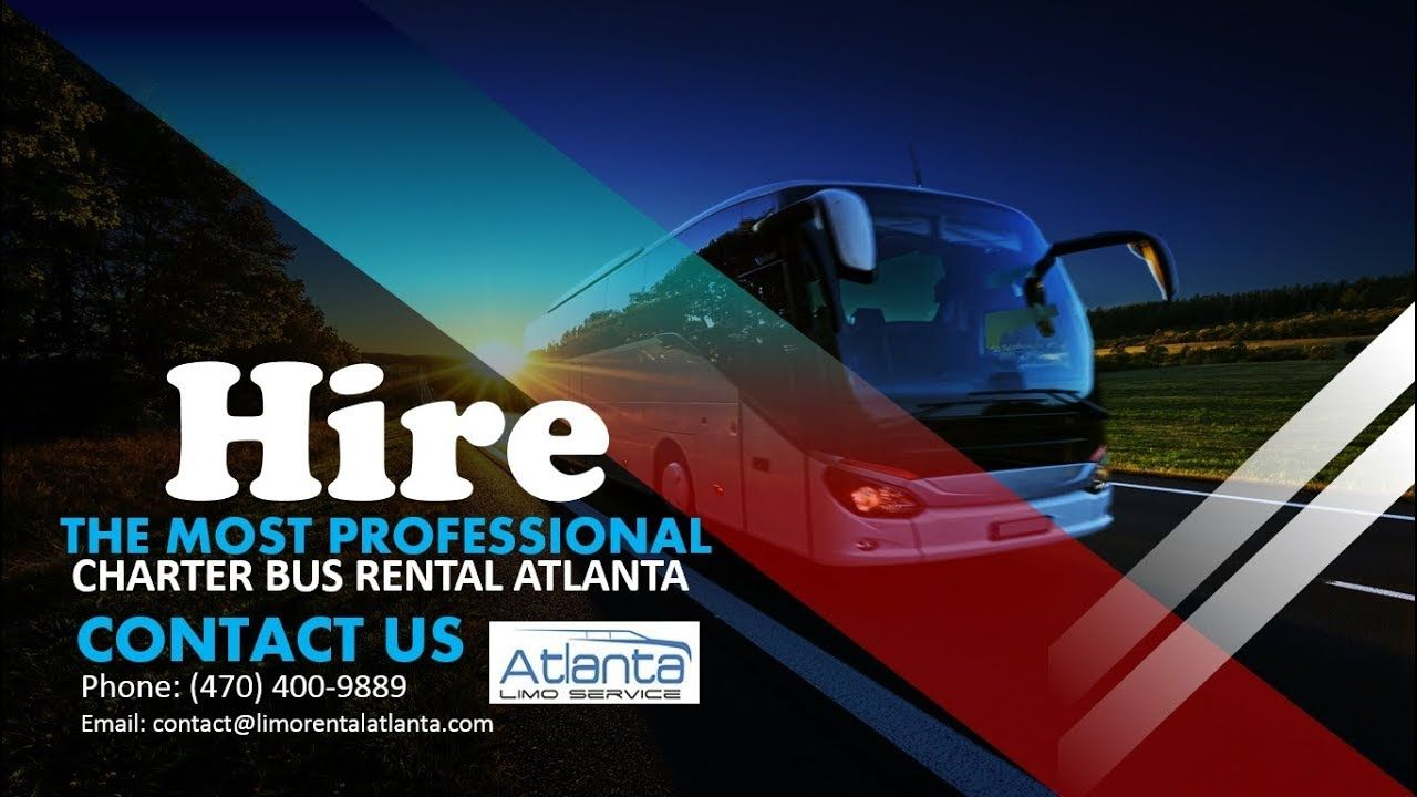 Hire the most professional charter bus rental atlanta in