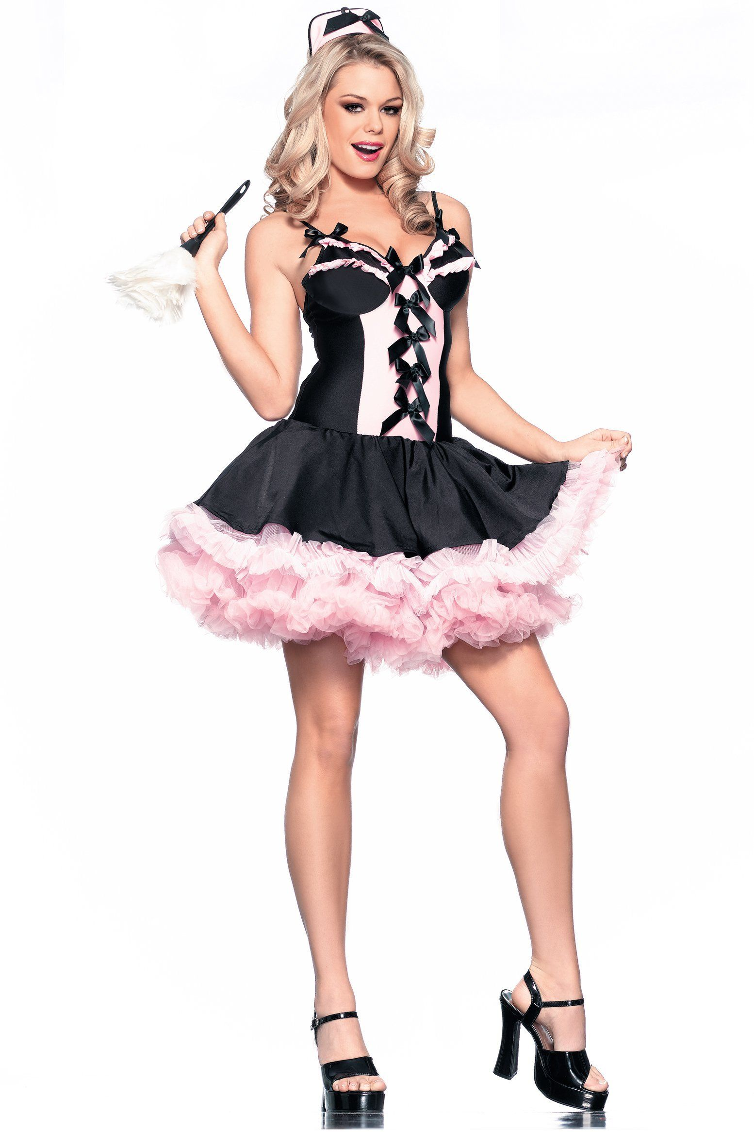 New Be Wicked BW849 Sassy Maid Costume