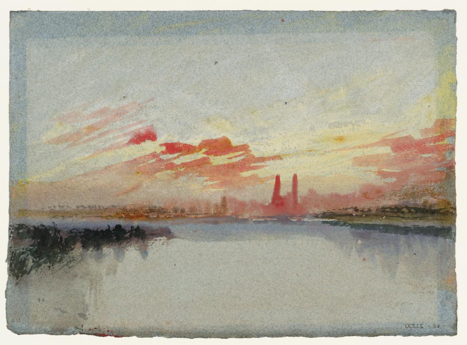 Guls On The Mosel Joseph Mallord William Turner C 1839