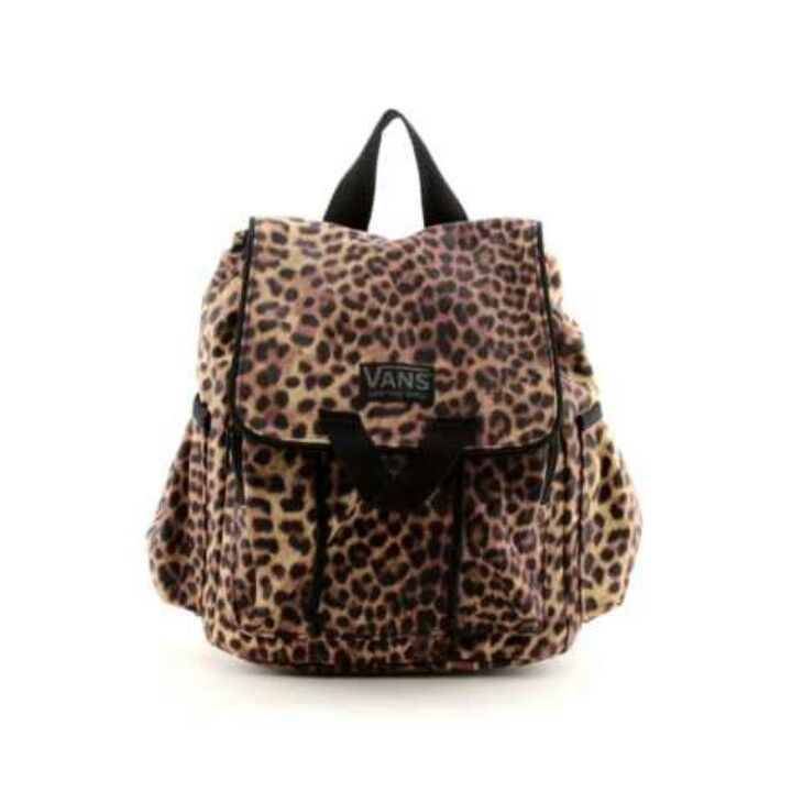 Cheetah vans backpack(  tooo cute  e7a846483872b