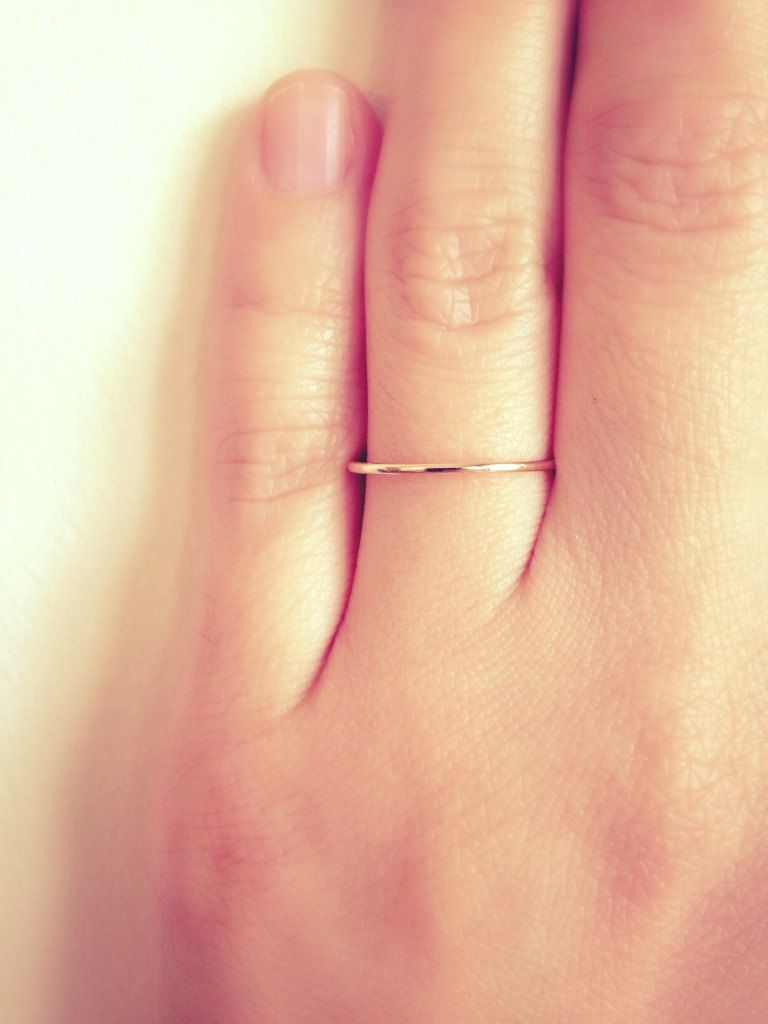 jewelry ring shipping bands band pin stacking skinny gold suzansmarket by thin dainty free solid wire delicate on wedding