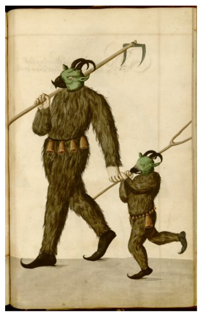 Radical Fashion from the Schembart Carnival (1590) | The Public Domain Review