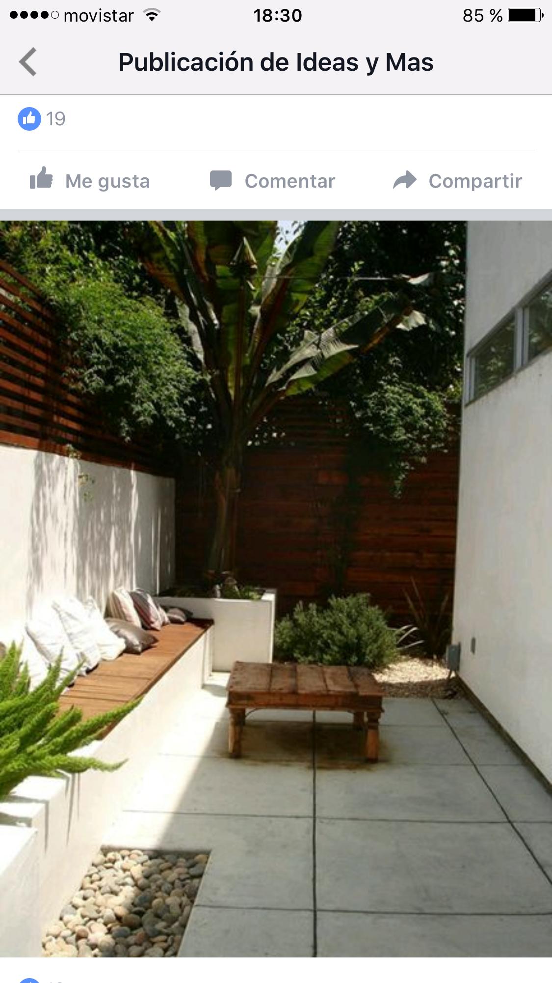 Pin de Adriana Soto en decoraci n patio Pinterest