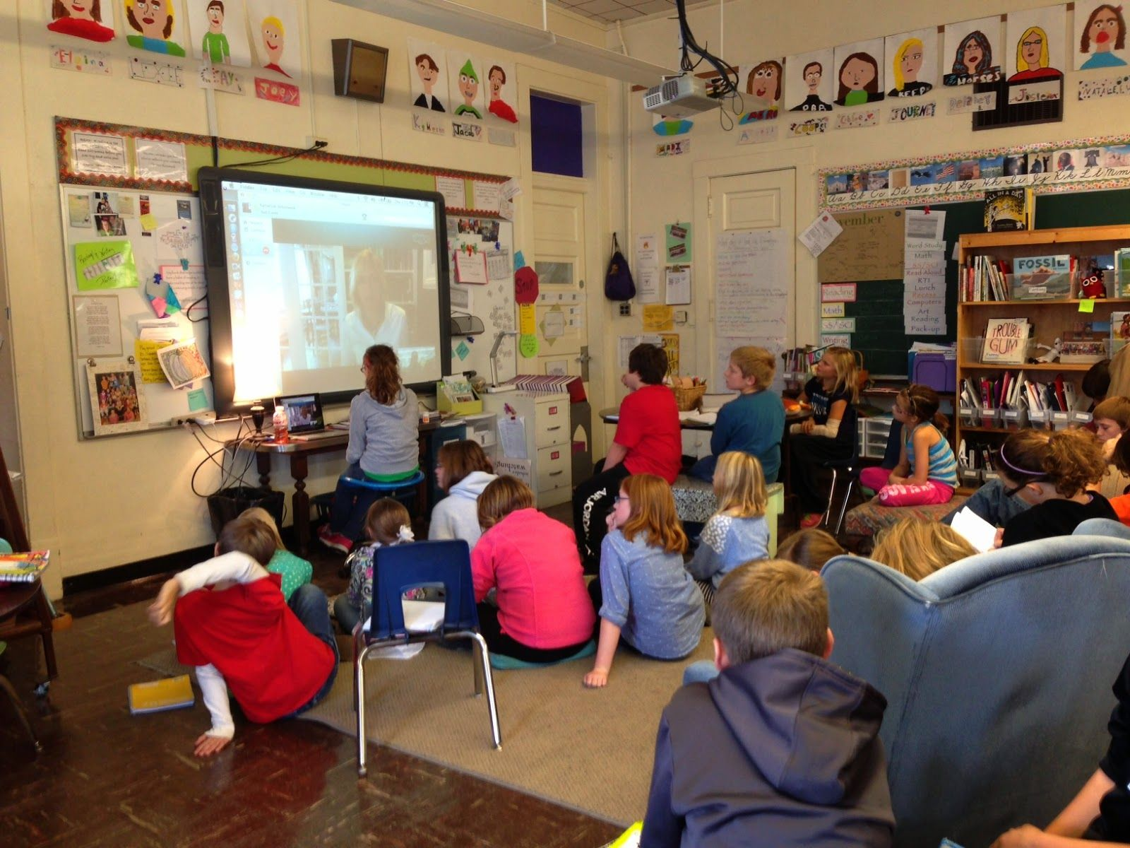 Read, Write, Reflect: Our Classroom, Not Mine: Thinking Through Classroo...