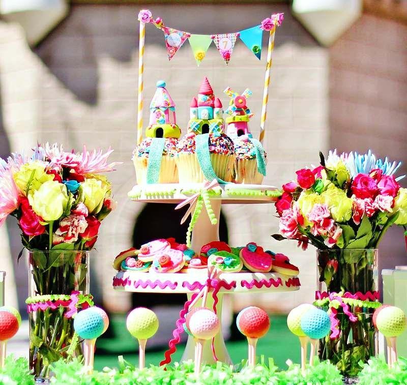 kindergeburtstag feiern minigolf thema f r teenagers kadysgeburtstag pinterest party. Black Bedroom Furniture Sets. Home Design Ideas