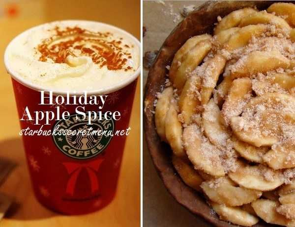 Celebrate with a Starbucks Holiday Apple Spice! #starbuckssecretmenu Recipe here: http://starbuckssecretmenu.net/starbucks-secret-menu-holiday-applespice/