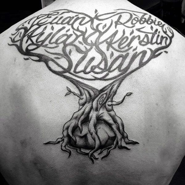 family tree tattoos for men pinterest tattoo and tatting. Black Bedroom Furniture Sets. Home Design Ideas