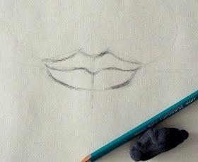El Taller De Miguel Angel Como Dibujar La Boca Paso A Paso Dibujos De Labios Como Aprender A Dibujar Aprender A Dibujar
