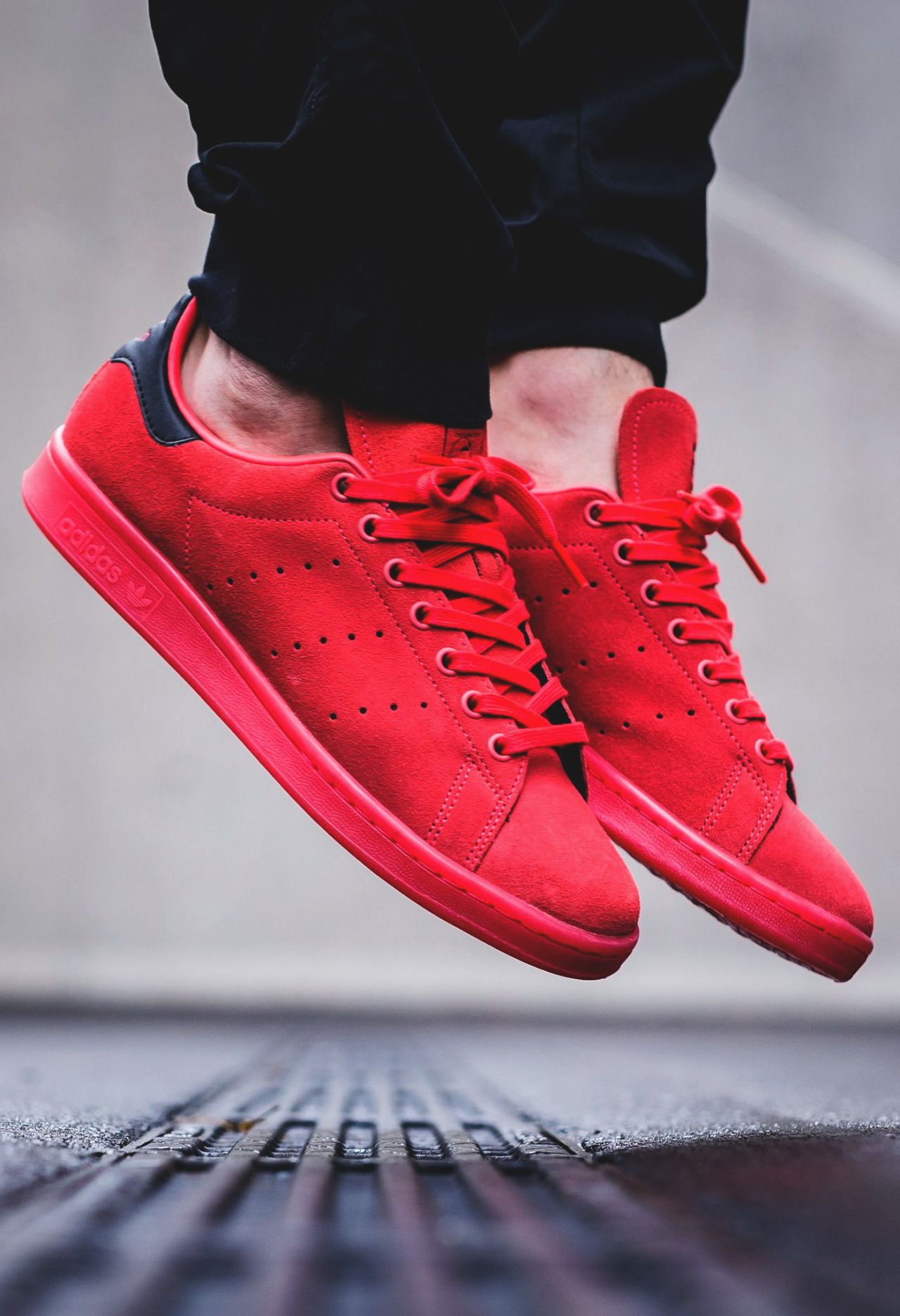 save off c7a4f 4f4d0 Adidas Stan Smith Shocking Red  sneakernews  Sneakers  StreetStyle  Kicks   adidas  nike  vans  newbalance  puma  ADIDAS  ASICS  CONVERSE  DIADORA   REEBOK   ...