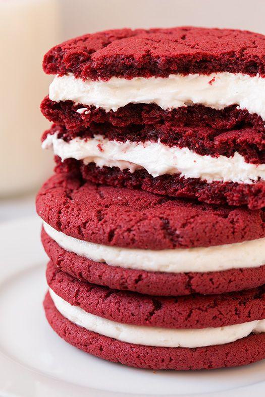 Red Velvet Oreos From Red Velvet Lover S Cookbook Cooking Classy Food Red Velvet Oreo The Joy Of Baking