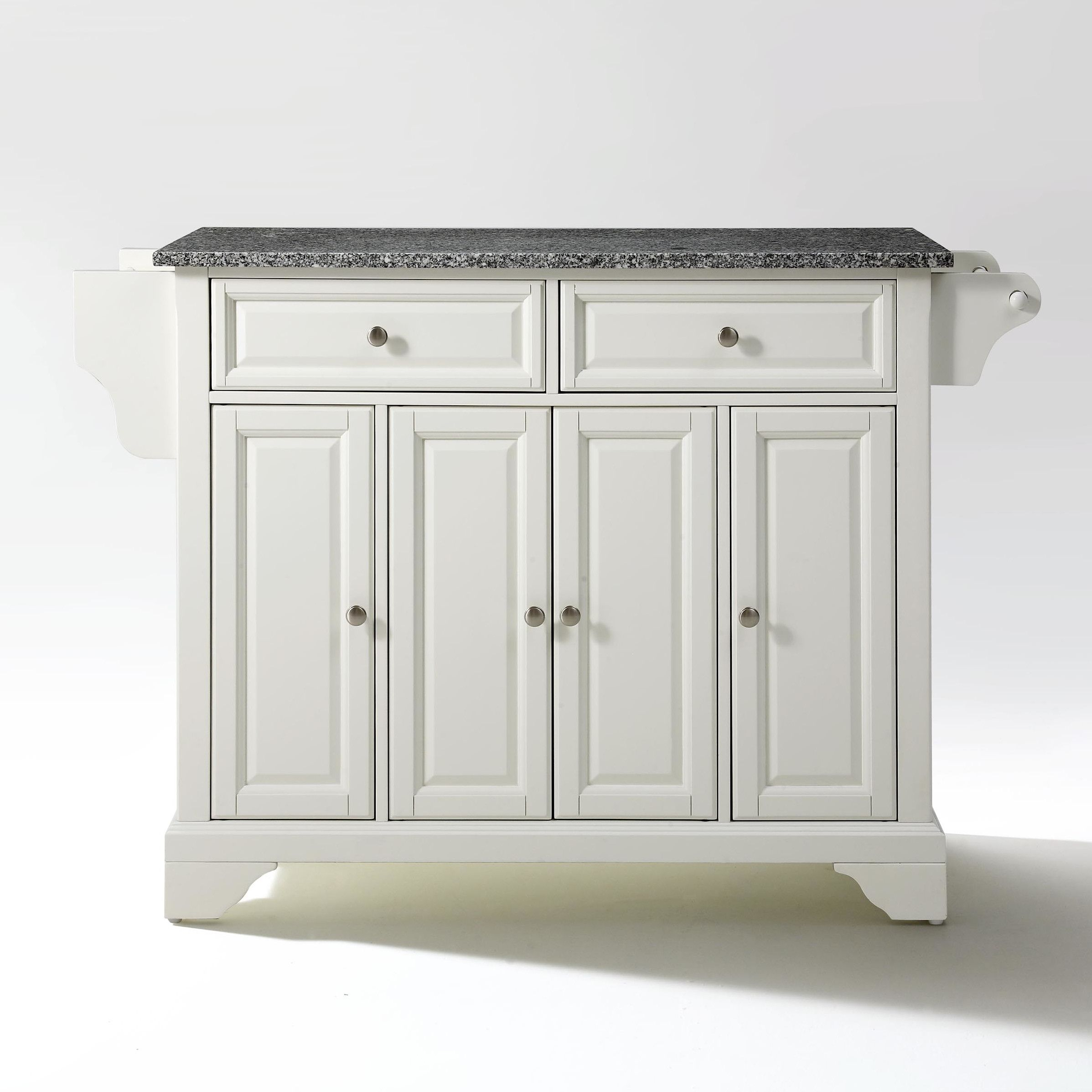 crosley lafayette kitchen island with granite top amp reviews ...