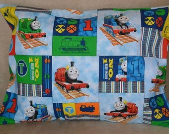Thomas The Train Pillowcase Fascinating Travel Pillow Case  Child Pillow Case Thomas The Train And Friends Decorating Inspiration