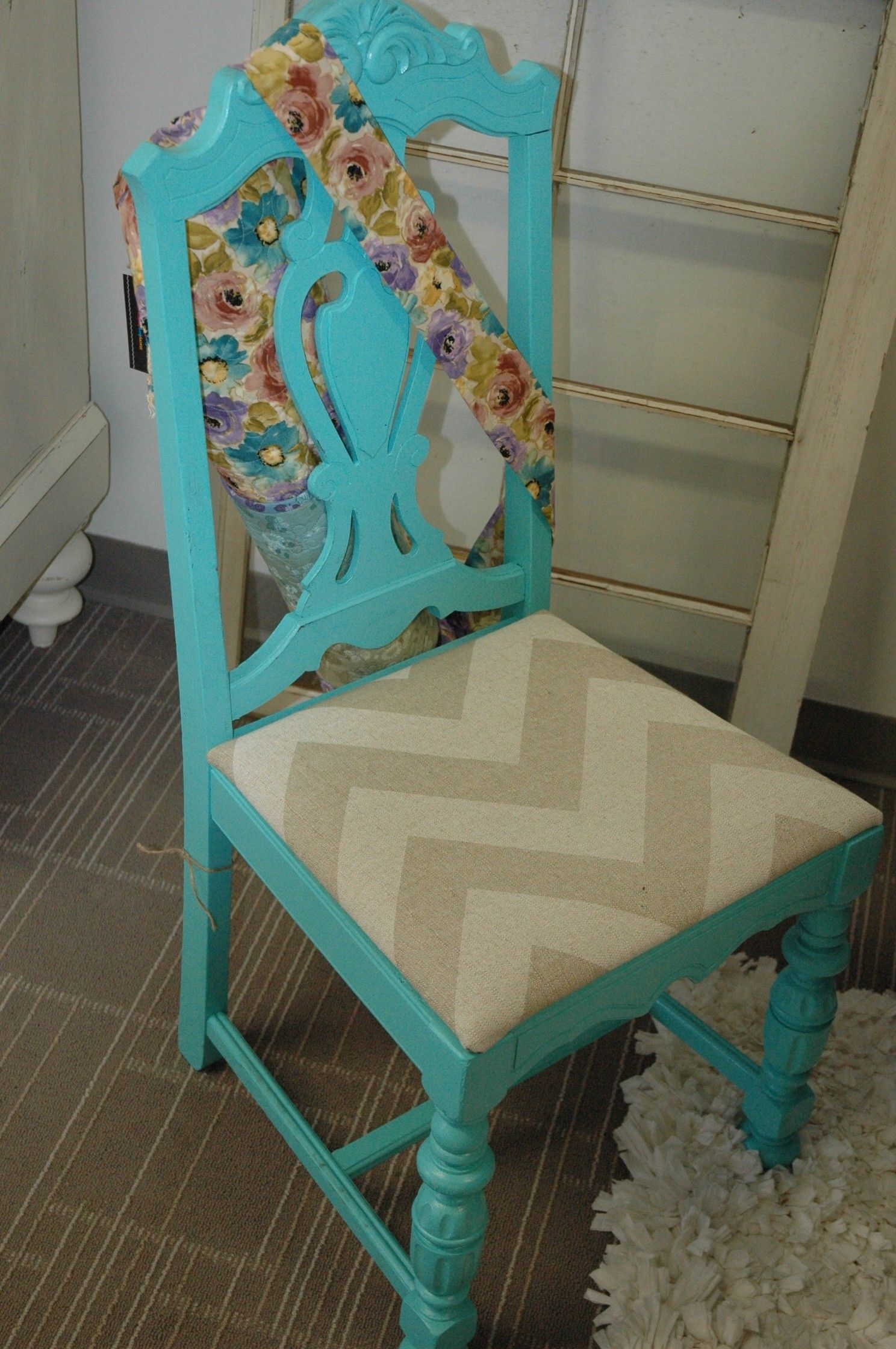 tell city chairs pattern 4548 kids saucer chair teal with chevron linen seat 105 crystal lake