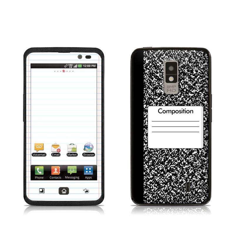 Composition Notebook LG Spectrum VS920 Skin Composition
