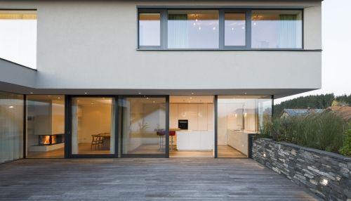 Moderner haus innenausstattung neubau  Neubau Einfamilien-Haus am Hang im Oberallgäu – Inspiration und ...