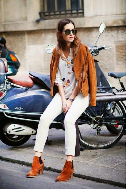 Daddy's neatness   Fashion Vintage Blogger: Summer trends: Leather fringes
