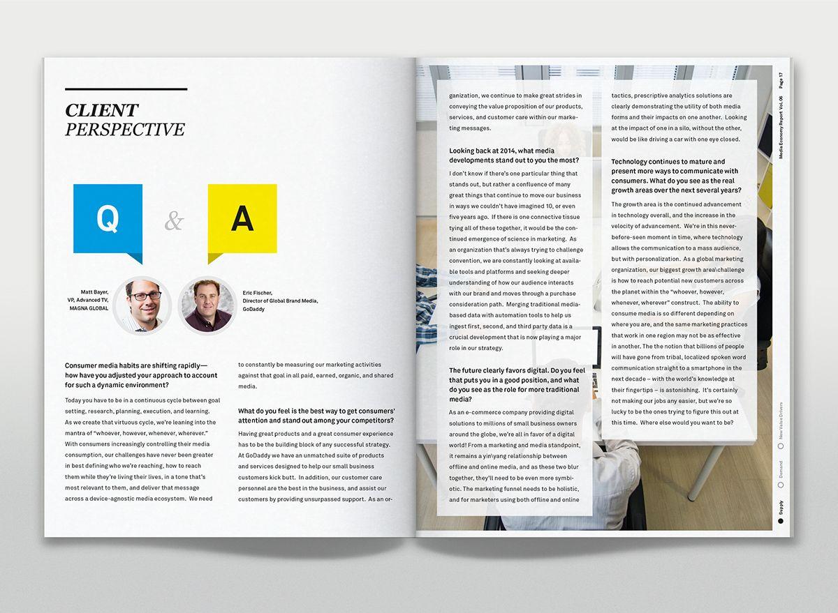 Media Economy Report Vol.6 on Behance