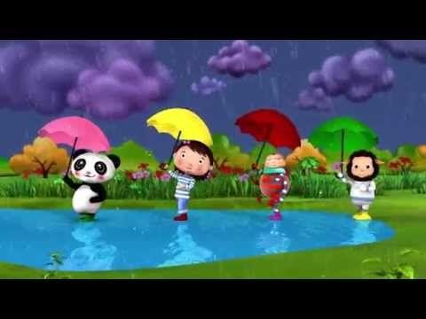 Lluvia lluvia vete ya | LittleBabyBum Canciones infantiles HD 3D - YouTube