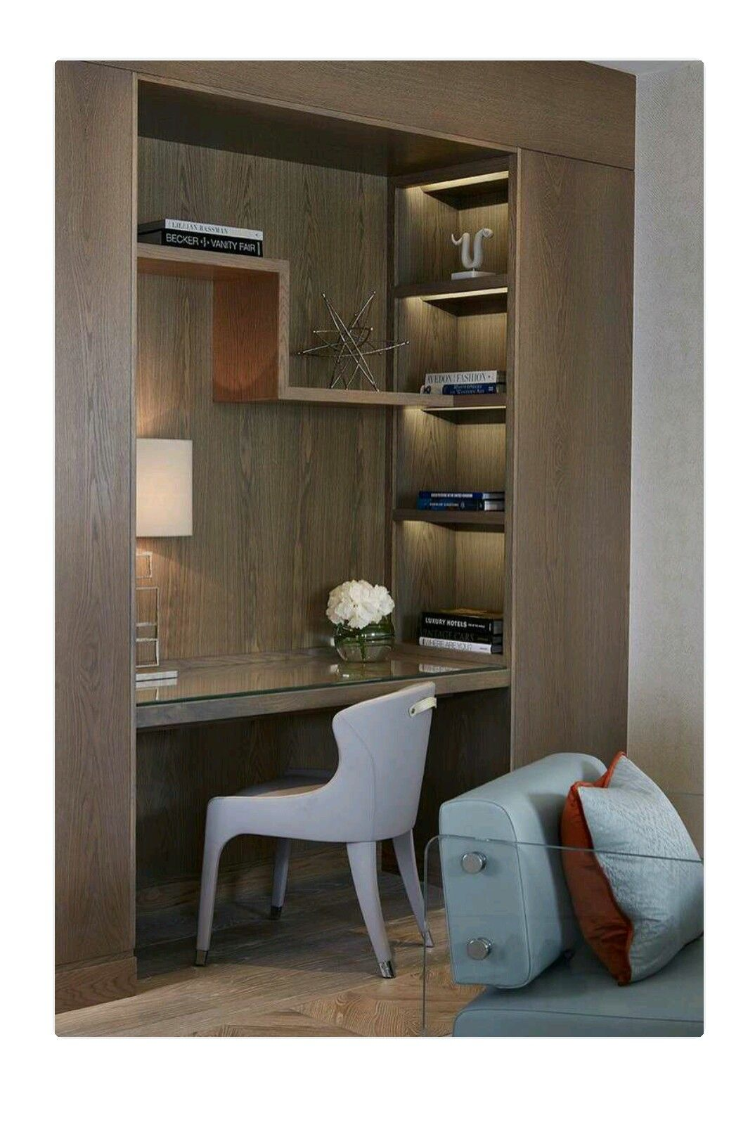 Elegant Study Room: Study Table Designs, Home Office Design