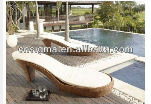 2014 Fashion Design New Heels Patio Daybed Furniture Chaise Lounge In  Garden Sets From Furniture