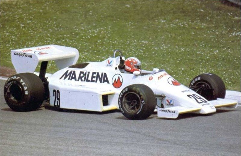 1983 San Marino Arrows A6  Marc Surer
