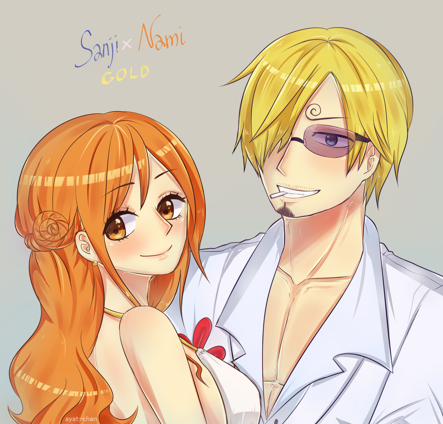 Sanji & Nami from GOLD movie