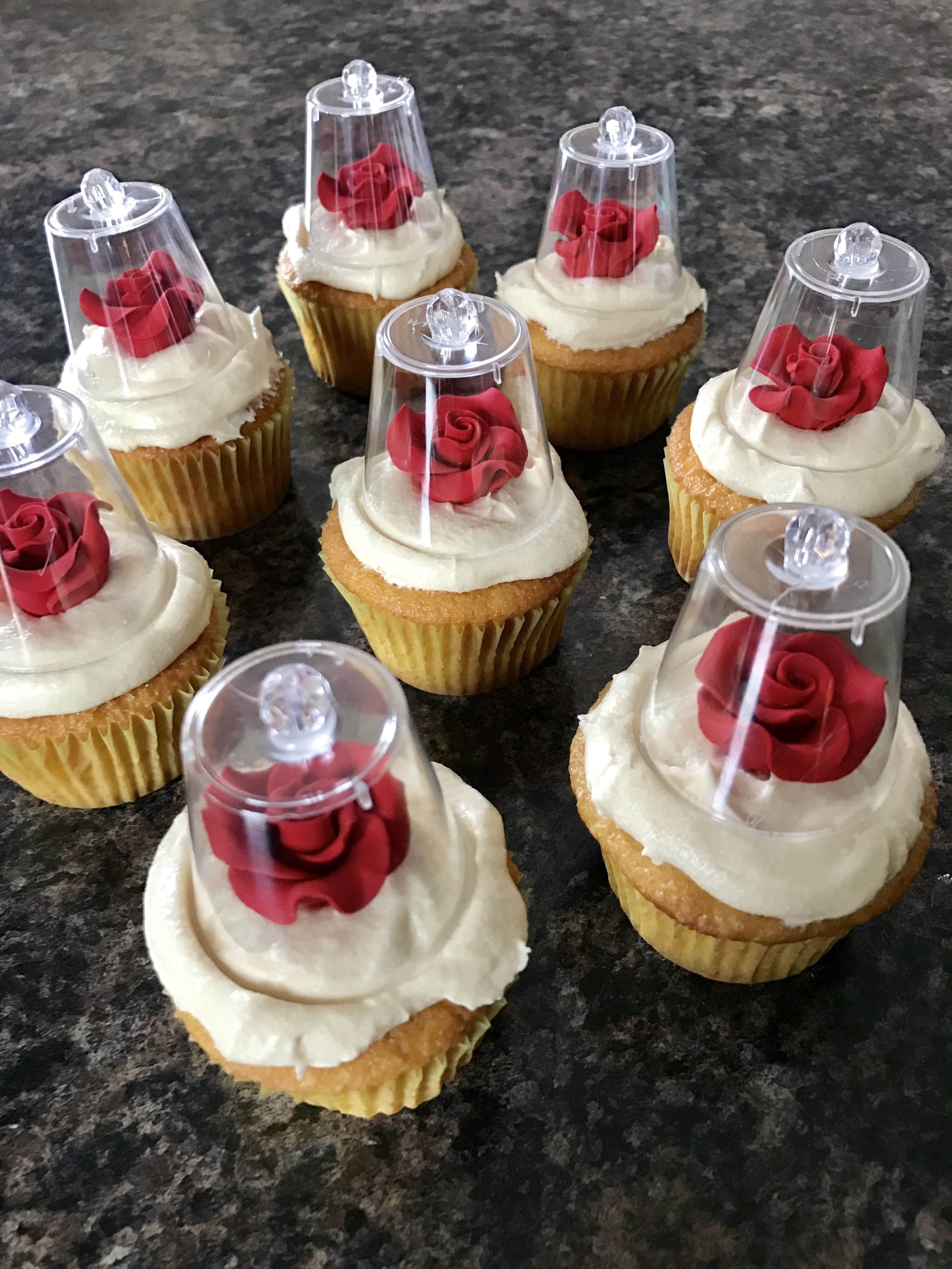 Inspired Cupcakes Beauty Beast And Thebeauty And The