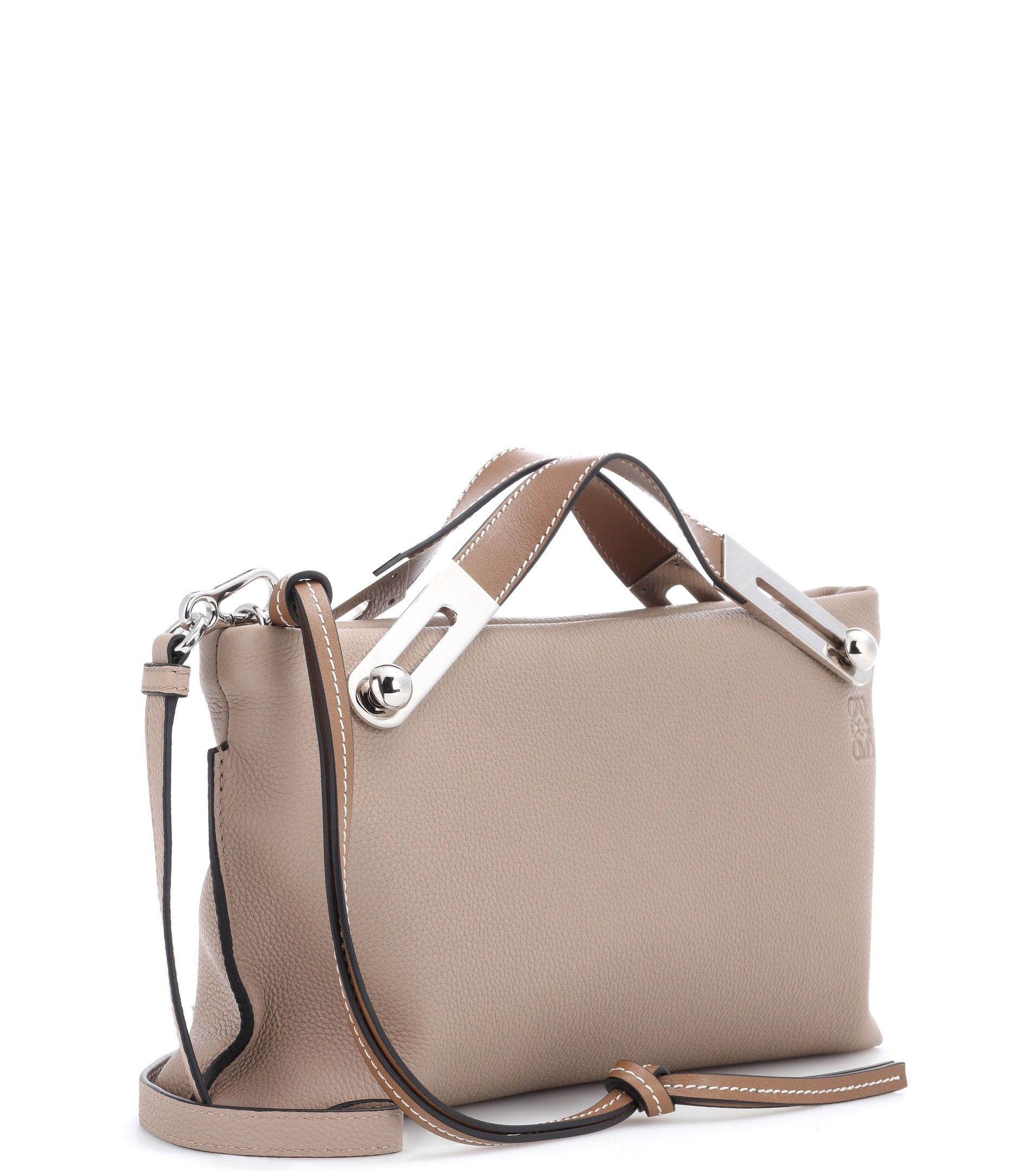 Missy Leather Clutch Loewe vb5EfbnS