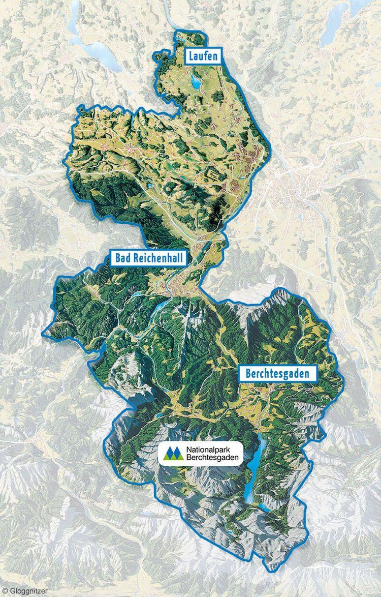 Berchtesgadener Land Karte.Karte Berchtesgadener Land Germany Beauty Royalty Berchtesgaden